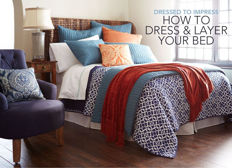 Dressed To Impress How To Dress Amp Layer Your Bed D 233 Cor