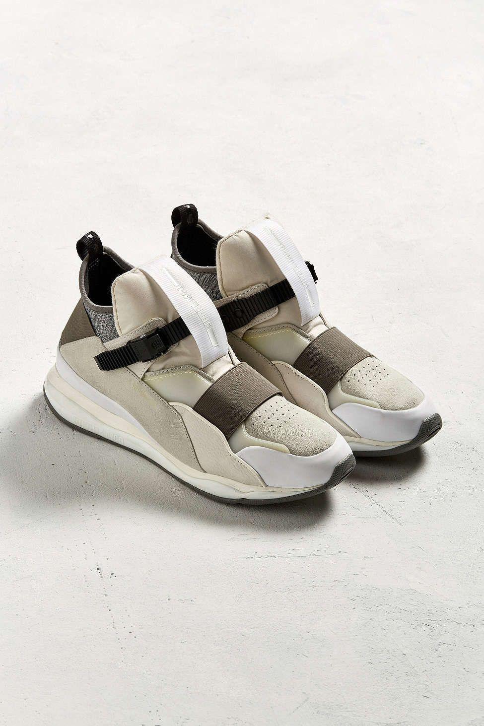 3779b5b2922 Puma X McQ By Alexander McQueen Cell Bubble Run Mid Sneaker ...