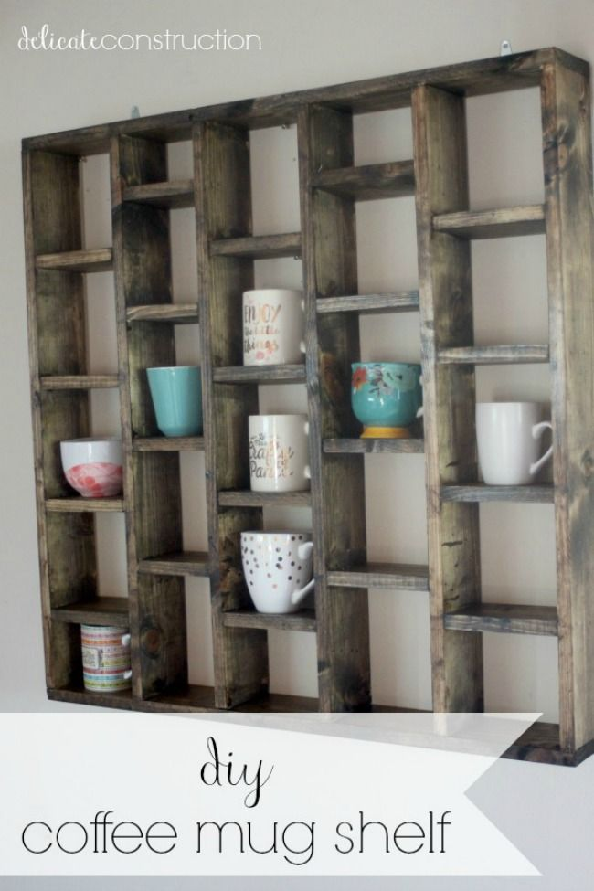 The 11 Best DIY Mug Racks | The Eleven Best
