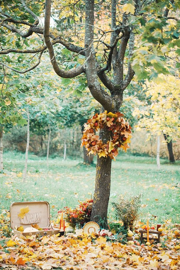 Fall in love | Autunmn leaves wedding |  Tante idee per un matrimonio tra le foglie autunnali! for more ideas: http://theproposalwedding.blogspot.it/2013/10/fall-in-love.html