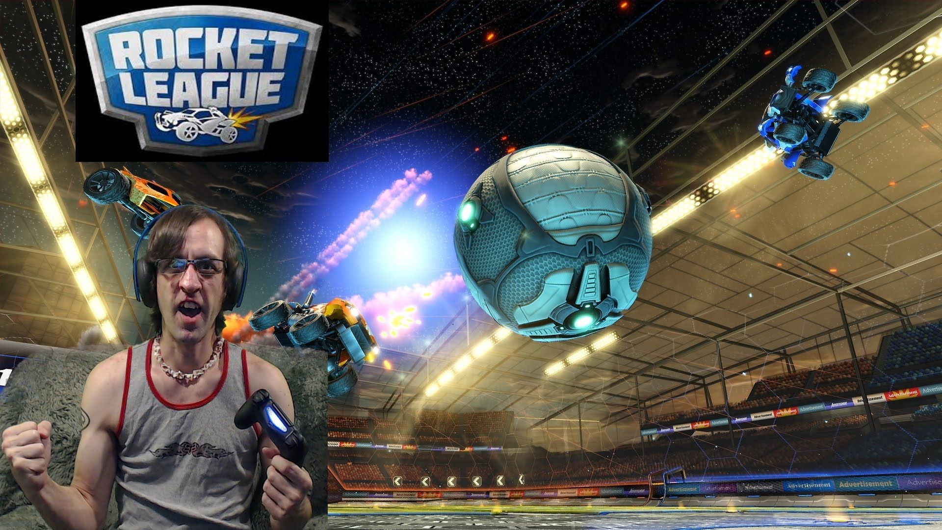 Racing games on PS4 Rocket League with Chocobones! 1