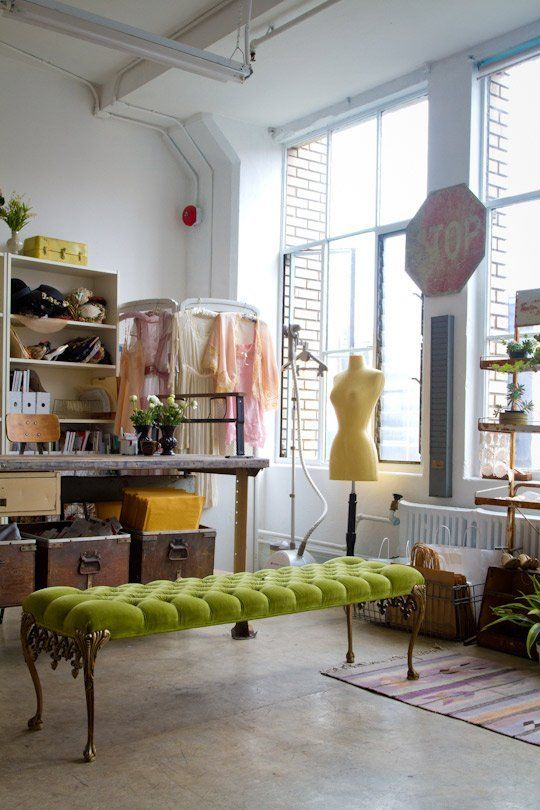 Genial Inside The Lovely Studio Of Adore Vintage