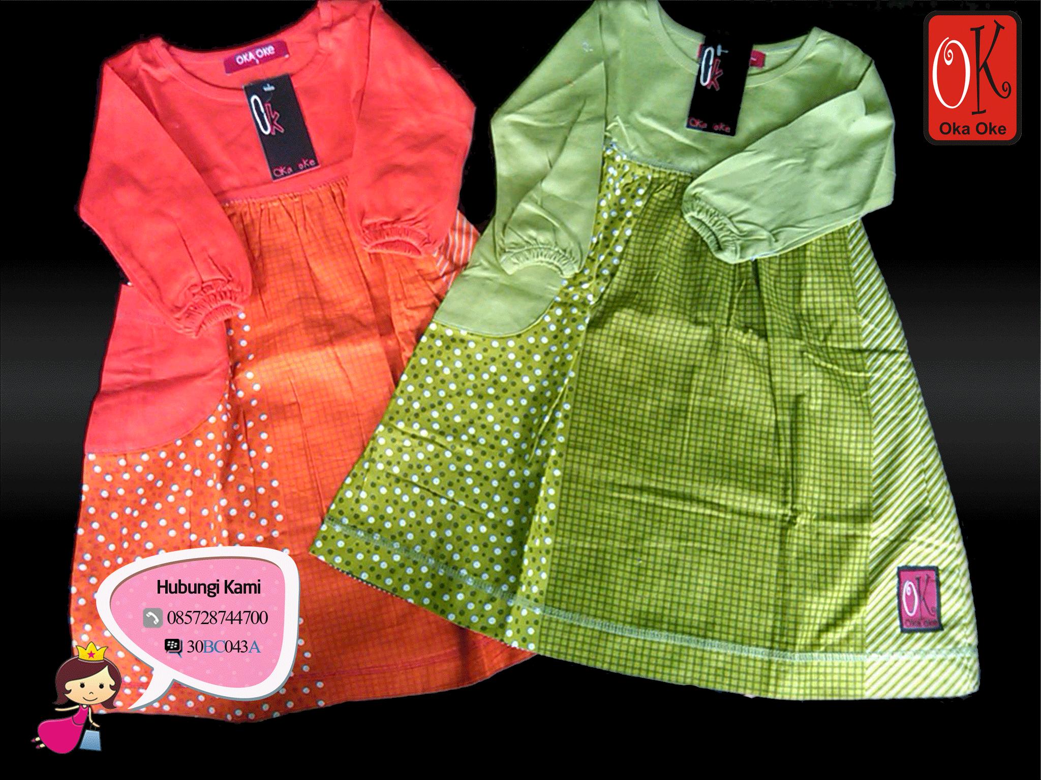 Pusat Grosir Baju Gamis Oka Oke Solo  Baju Gamis Anak  Baju