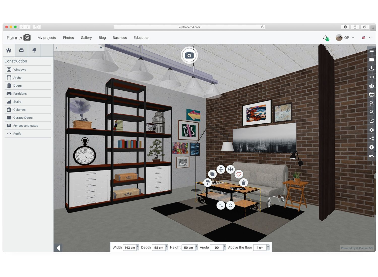Home Design Software Interior Design Tool Online For Home Floor Plans In 2d 3d In 2021 Home Design Software Design Your Home House Design