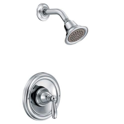 Moen Brantford Shower Faucet T2152 Chrome Shower Faucet Faucet Moen Brantford