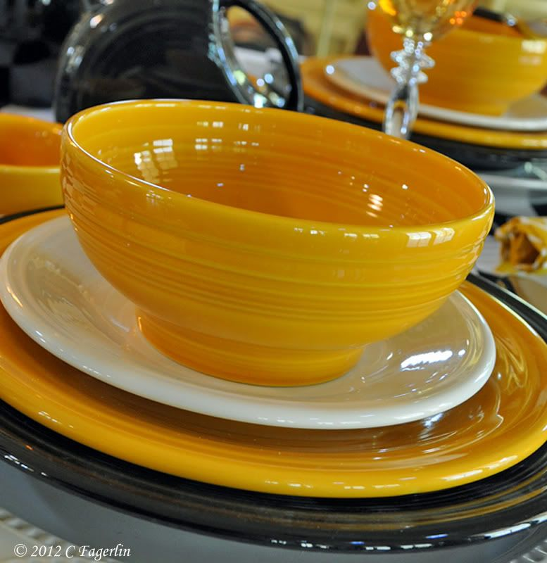 75th Anniversary Marigold Homer Laughlin began making its iconic brand of Fiesta Dinnerware in 1936 & 75th Anniversary Marigold Homer Laughlin began making its iconic ...