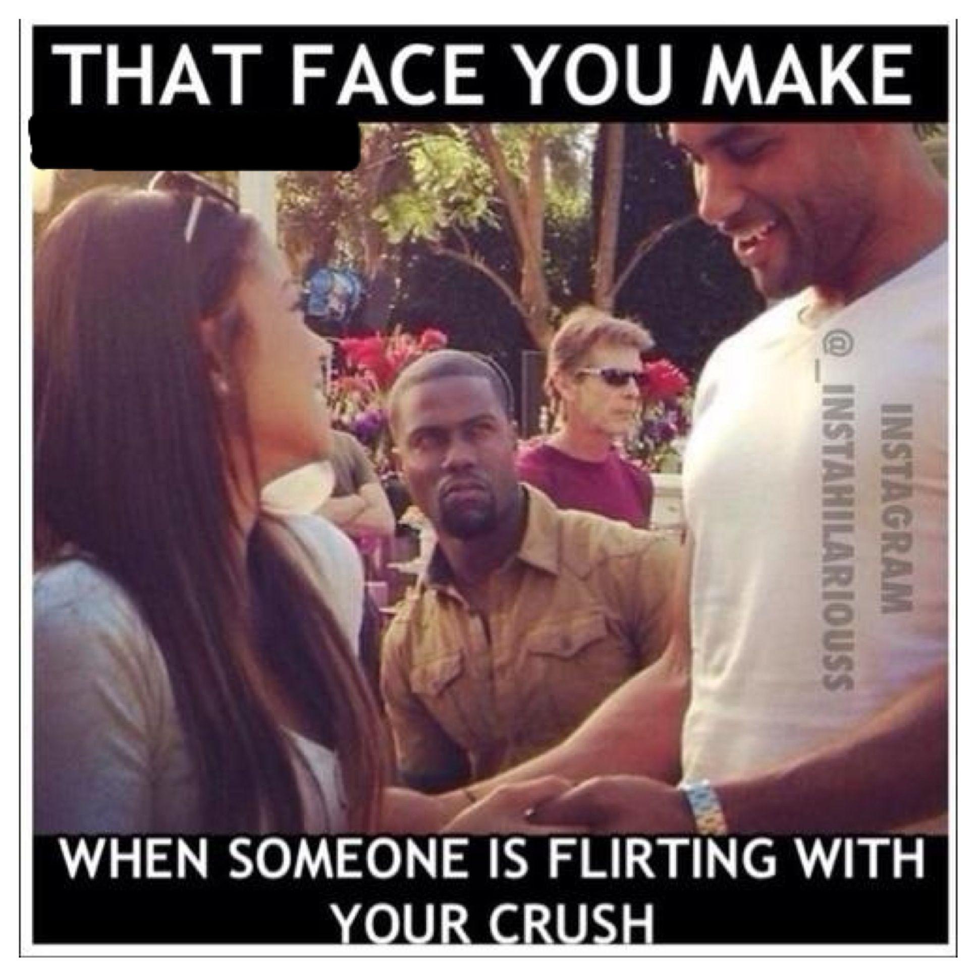 how i flirt your face