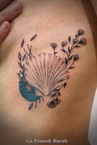 tatouage coquillage shell tattoo tattoo project. Black Bedroom Furniture Sets. Home Design Ideas