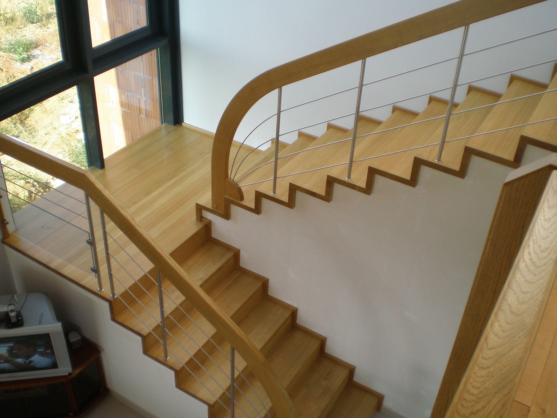 Escalier Avec Palier Devant Fenetre Habillage Escalier Escalier