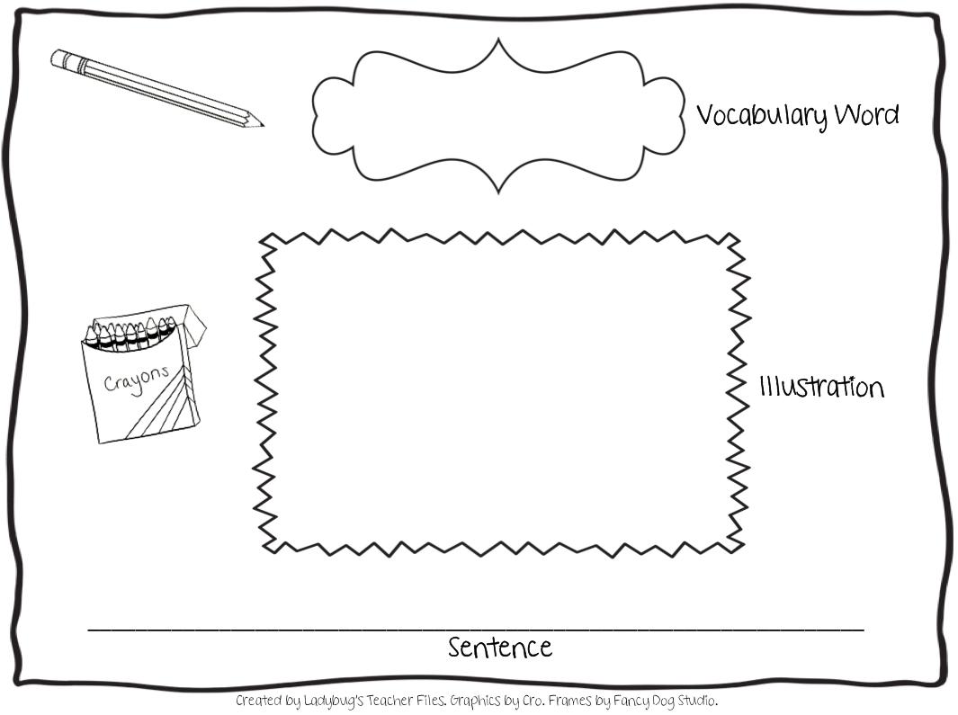 A New Vocabulary Graphic Organizer