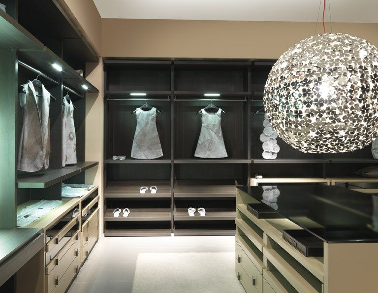 Inloopkast Van Millimetrica : Millimetrica armario vestidor by misuraemme diseño ennio arosio