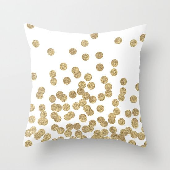 Pas Cher Or Glitter Dots Coussin Decoratif Couvre Polyester Throw Ikea Taie D Oreiller Personnalise Gros Acheter Couv Coussin A Pois Housse De Coussin Coussin