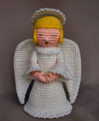Ravelry: Crochet Angel pattern by Linda Potts