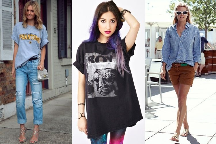 7b07e90f Hot And Spicy Ways On How To Wear Oversized Shirts And Oversized T ...