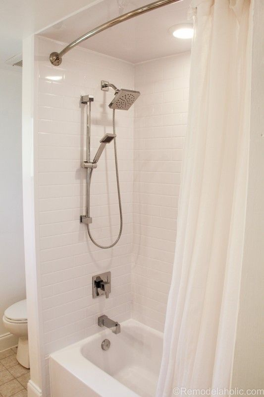 Lovely Bathroom Shower Tub Refresh By Bath Fitters @remodelaholic (44 Of 47)