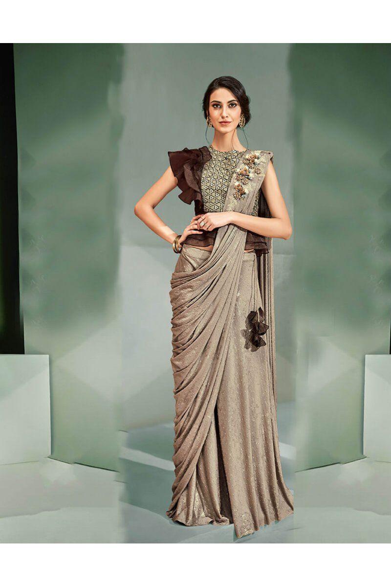 sari,wedding saree,designer saree,sari,yellow saree dress for women Luxury Chanderi saree and blouse for women,indian saree,saree dress