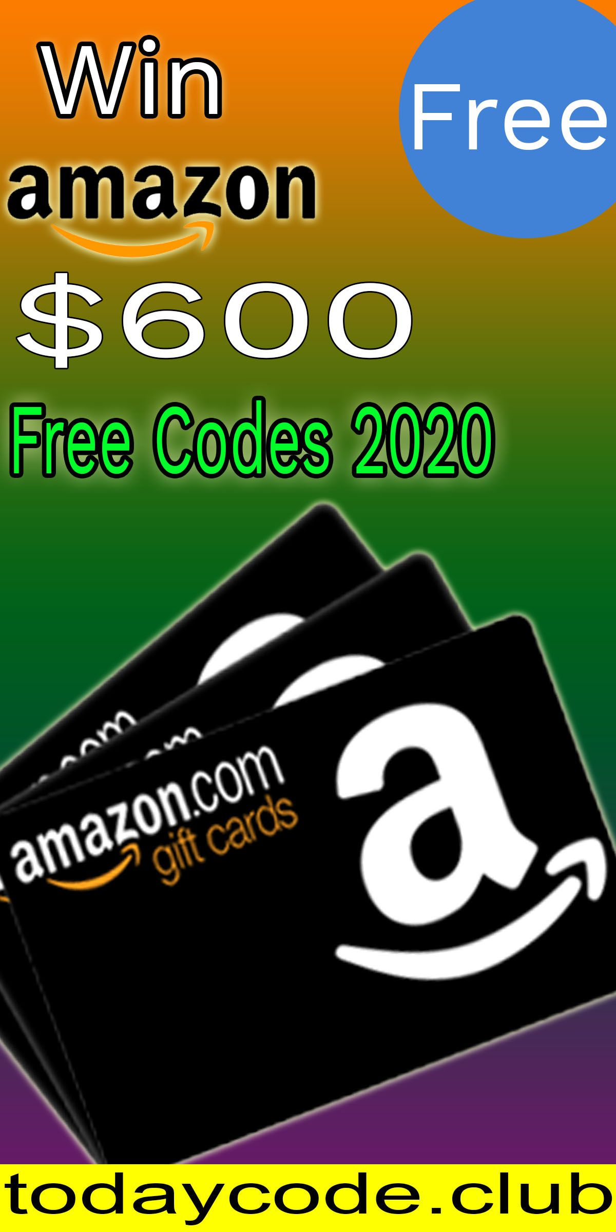 600 Free Amazon Gift Cards Amazon Gift Card Free Free Amazon Products Gift Card
