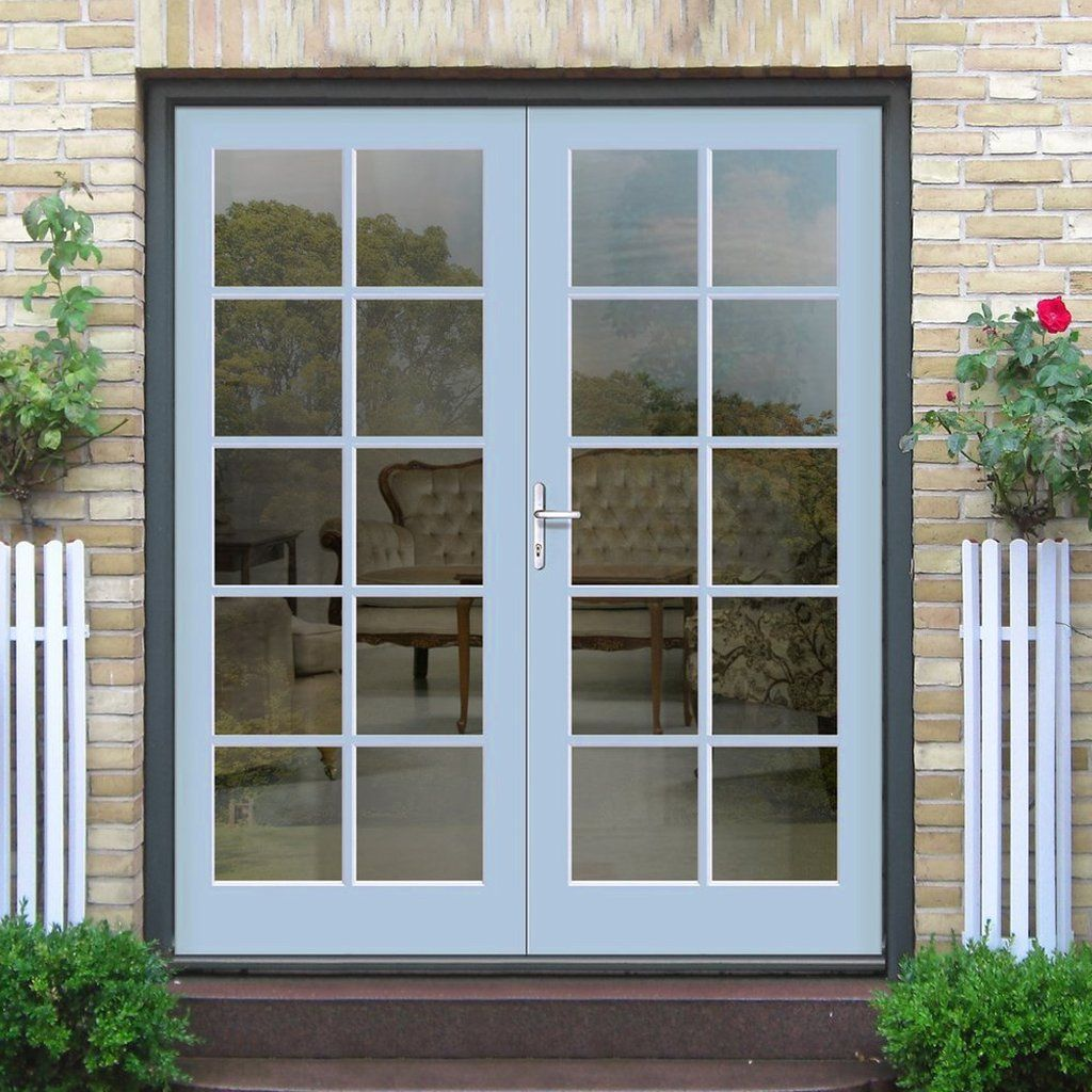 Made To Order Exterior 10 Pane Door Pair Fit Your Own