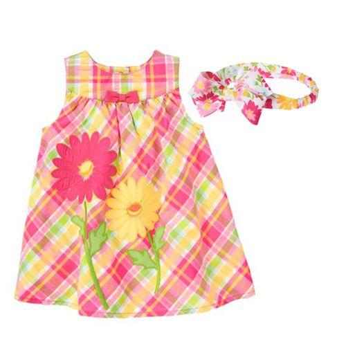 ازياء بناتي فستان بناتي ملابس اطفال ازياء مواليد فستان مناسبات زياء 2013 Childrens Clothes Seersucker Dress Girl Outfits