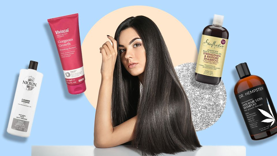 The Best Shampoos For Hair Growth That Ll Give You Kim K Length Strands Hair Shampoo Best Best Shampoos Hair Cleanser