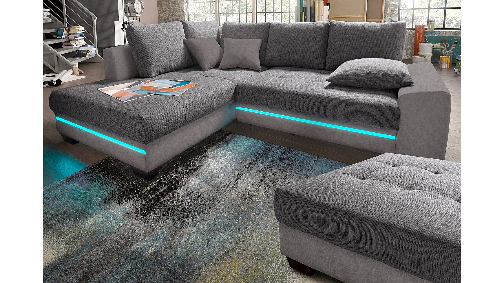 Big-sofa, Energieeffizienz: A Grijs In Je Woonkamer Interieur Living Tomorrow Bankstel Sofa