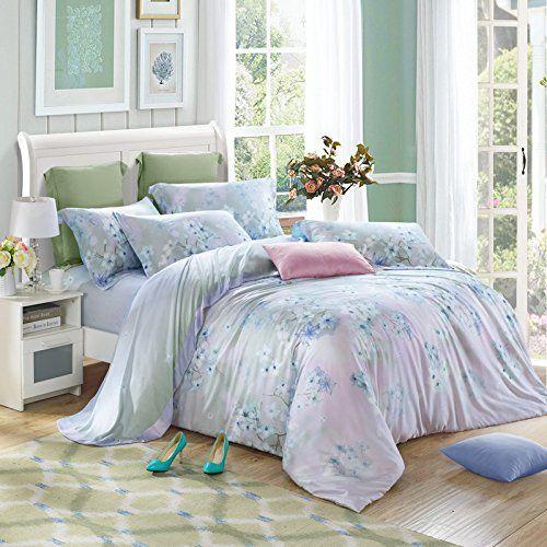 thefit paisley textile bedding for adult u280 cool pastel vintage flower duvet cover set 100