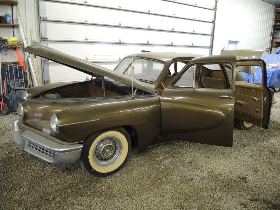 Liberated from an Ohio garage, Tucker 1044 to appear at Ypsilanti ...