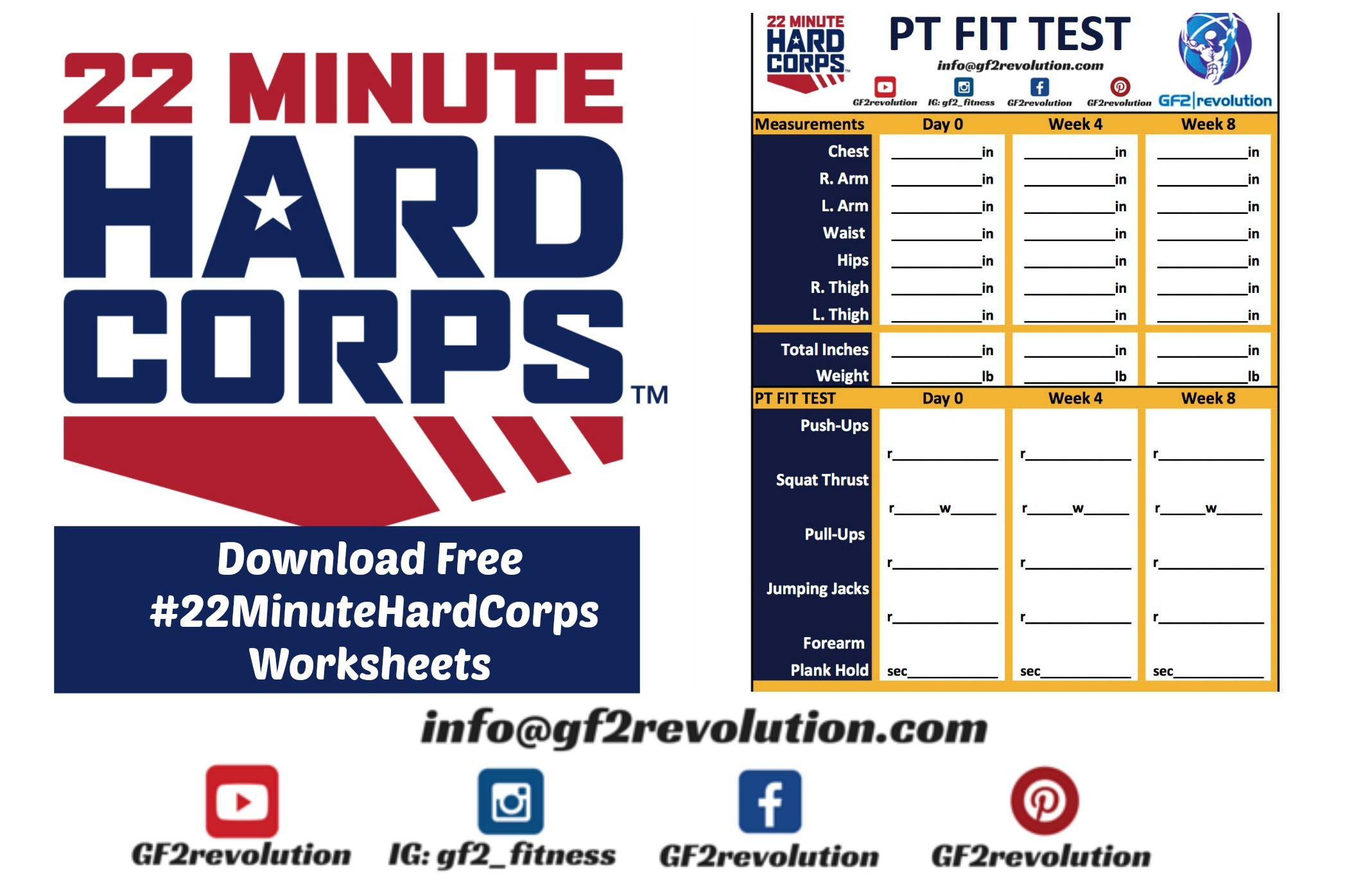 Free Download Of 22minutehardcorps Worksheets From