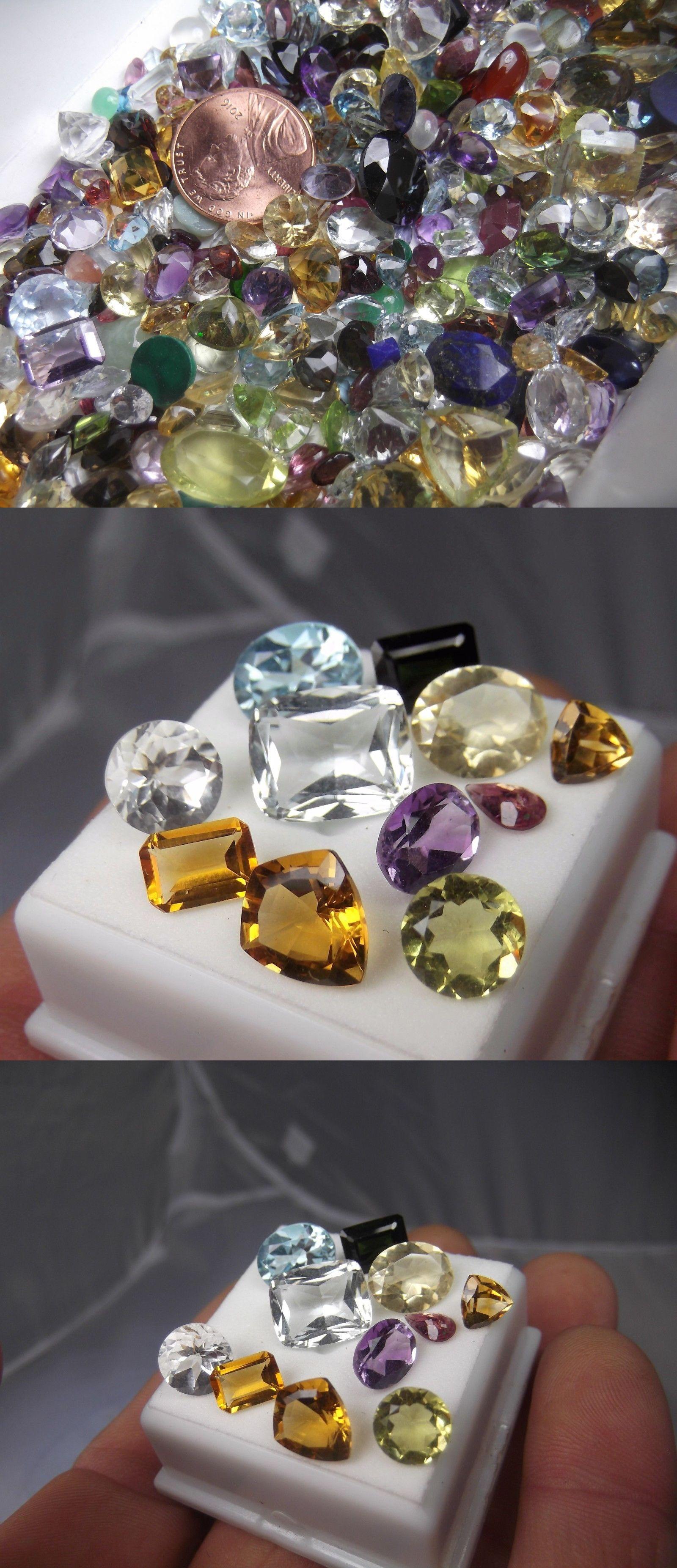 5cdd80ebc6d Mixed Lots 93707  50.00Cts Aaa Grade Mix Gemstone Mix Cut Lot Gem Stone -