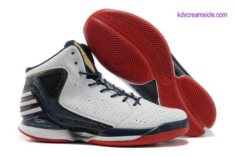newest d924b 688c0 Adidas Adizero D Rose 3.0 Shoes 2013 Midnight Navy White University Red