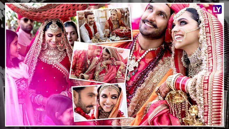 Deepikapadukone Ranveersingh Wedding Album Here Are All Picture Perfect Moments From Couple S Destination We Italy Wedding Wedding Album Couple Destinations