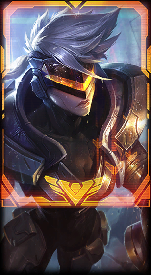 PROJECT Jhin, Vayne and Vi Loading Screen Borders