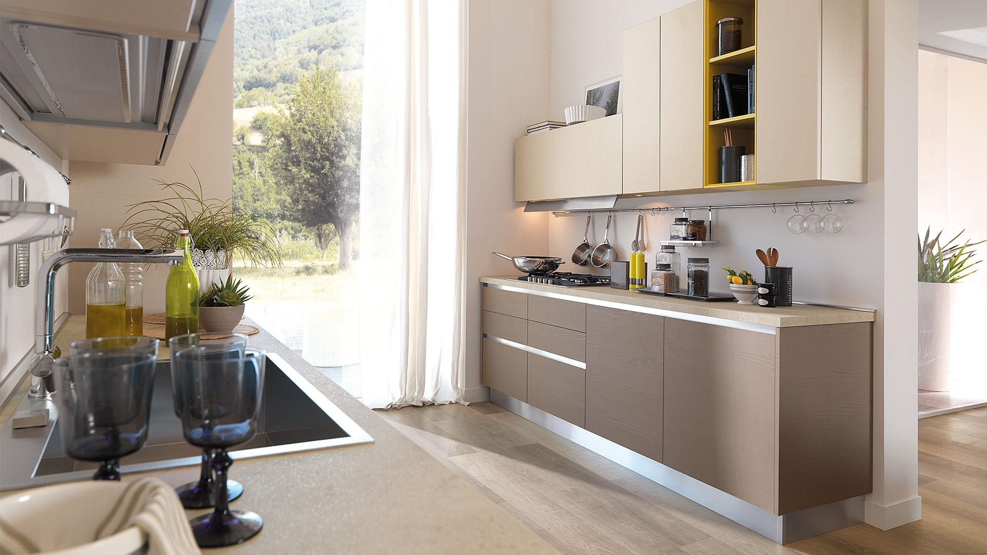 Essenza - Cucine Moderne - Cucine Lube | kitchen | Pinterest