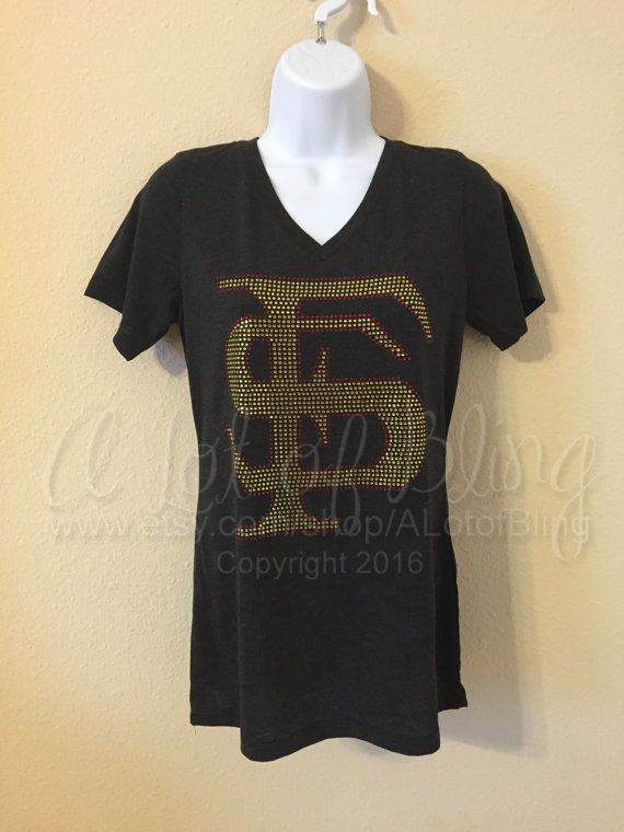 FSU Rhinestone T-Shirt