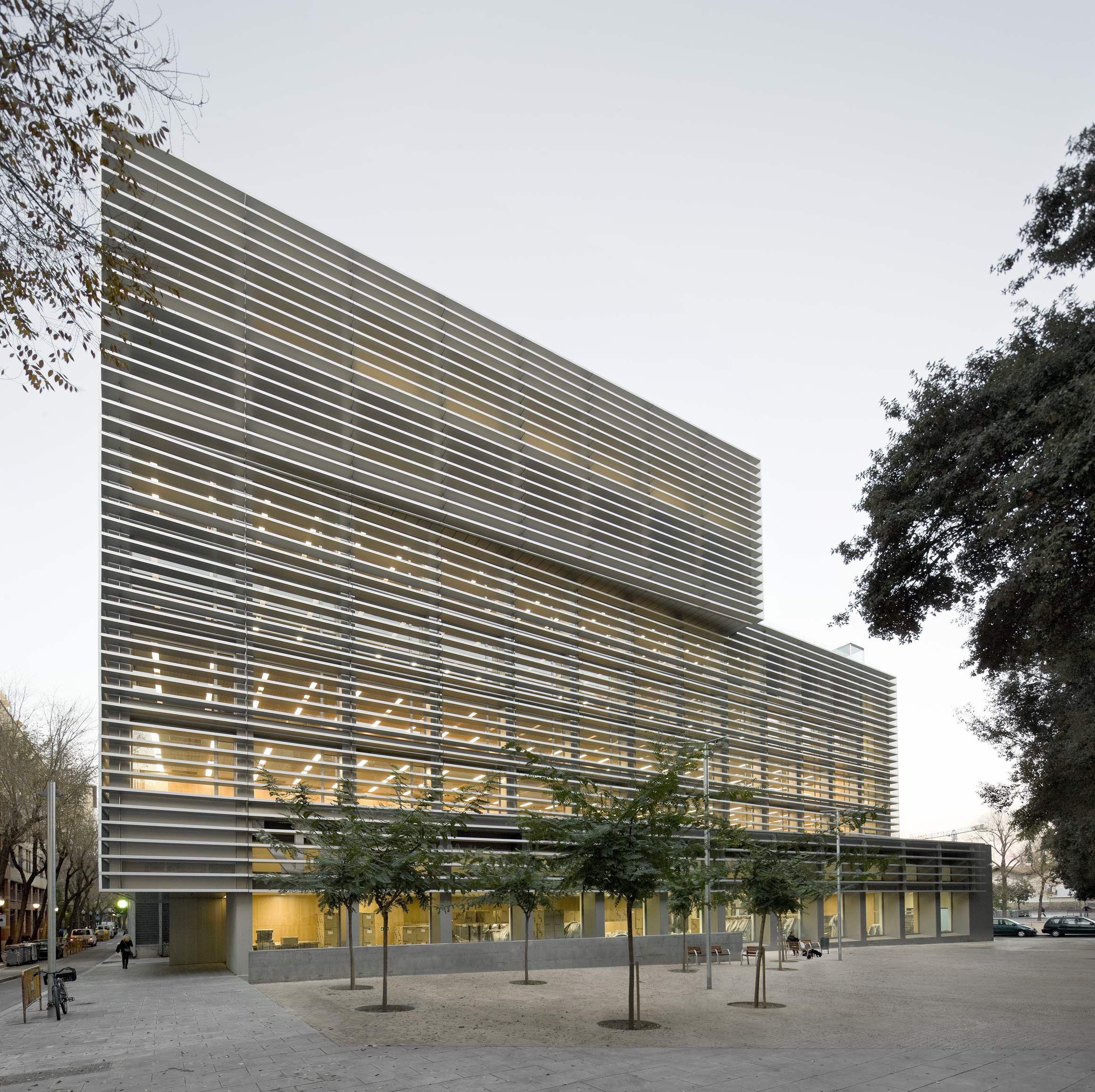 Bcq arquitectura barcelona pedro pegenaute edificio - Arquitectura barcelona ...