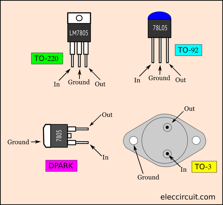 5v Switching Regulator Circuit Using Transistor Eleccircuit