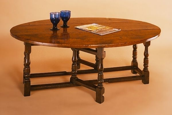 Small Oak Gateleg Coffee Table