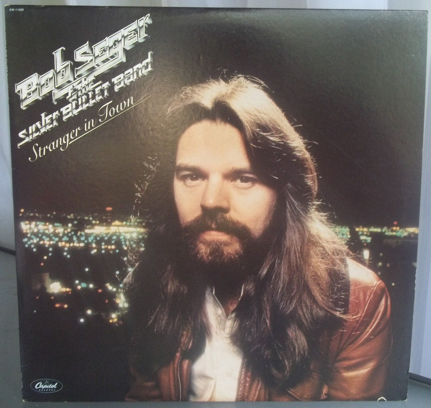 Bob Seger And The Silver Bullet Band Stranger In Town Vintage Record Album Vinyl Lp Rock And Roll Music Hollywood Night Bob Seger Music Albums Party Songs