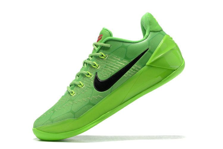 low priced 18525 9e987 Size Euro 44.5 Nike Kobe A.D. Grinch Christmas All Green