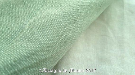 Mint Green Indian Art Silk Fabric By Yard Dupioni Silk Fabric