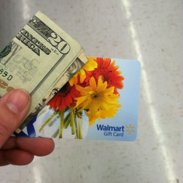 40th Birthday Random Acts Of Kindness: Two Friends Went To Walmart And Bought A Gift Card For $20
