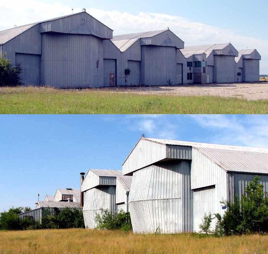 Richards Gebaur Airforce Base In Belton Abandoned Airplane Hangars