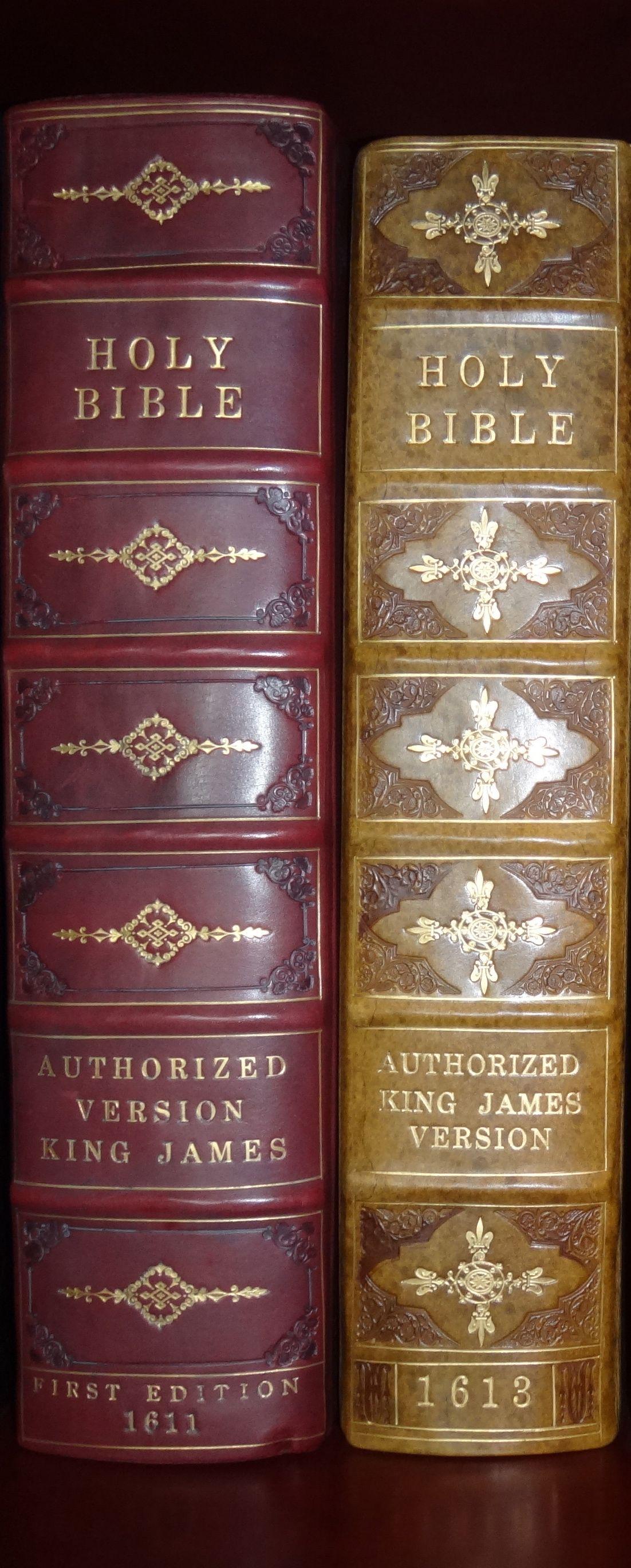 1611 King James Bible First Edition & 1613 King James Bible