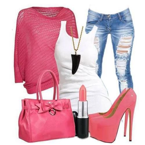 Love this casual look for the weekend.
