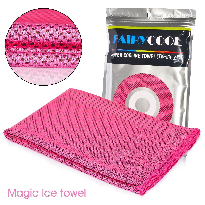 Imanom Cooling Towel Sports Chill Pad Microfiber Ice Towel