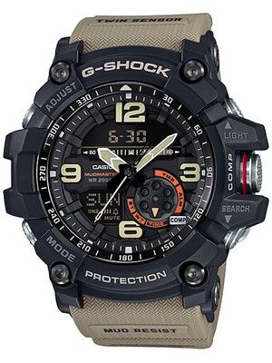 21ee52da32b Casio G-Shock Mudmaster Analog Digital Twin Sensor GG-1000-1A5 Men s Watch