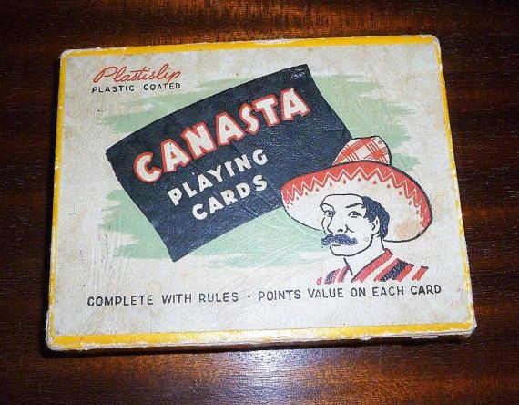 20 Vintage 1950s Hudson Industries Canasta Playing Cards 2 Sets And Instructions Cactus Series Print On Each Card Mid Century Playing Cards Cards Games To Play