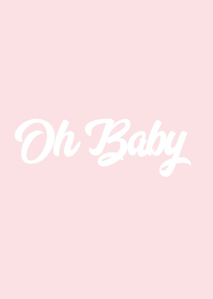 Party Banner Oh Baby W O R D S Quotes Wallpaper Quotes Wallpaper