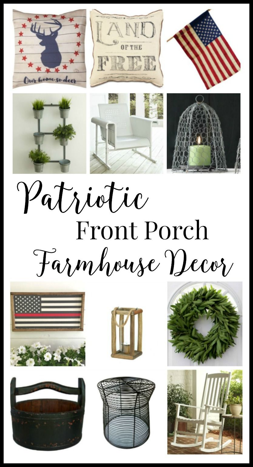 Patriotic Porch Decor Ideas Decor Porch Decorating Home Decor