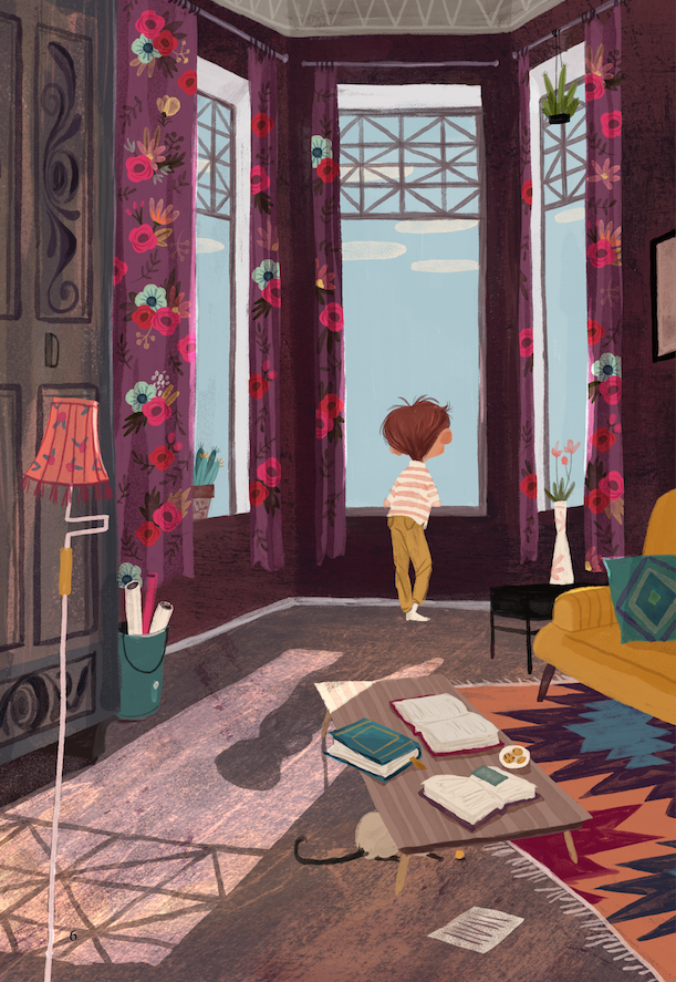Illustrations for a children's book, published 2014Moscow, RussiaClever